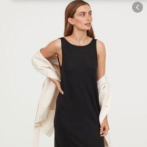 Minimalist black dress